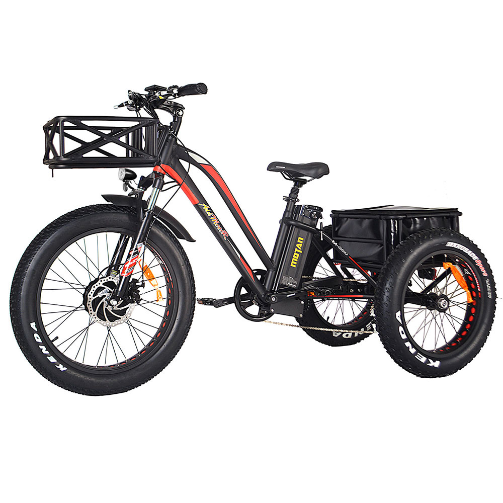Electric Bike Tricycle for Adults
